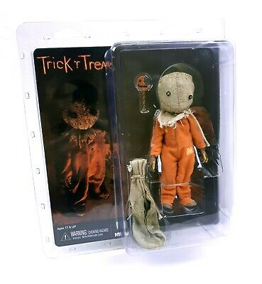 Neca Trick R Treat Sam Cloth 8 Inch Action Figure