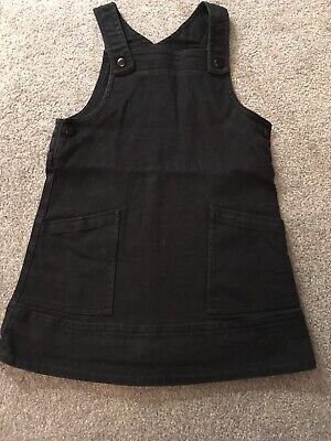 Baby Girls Toddler Black Marks And Spencer M & S Pinafore Dress 2-3 Years