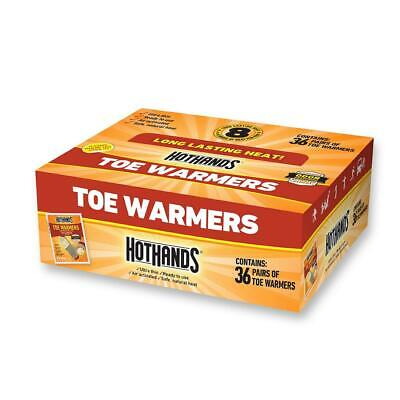 HotHands Hot Hands Toe Warmers, 36 Ct. (36 Pairs) With Odor Blocking Charcoal