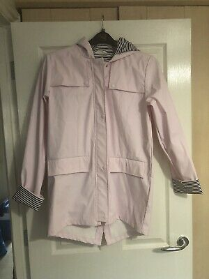 Girls Matalan Candy Couture Pink Hooded Winter Coat Jacket Age 15 Years