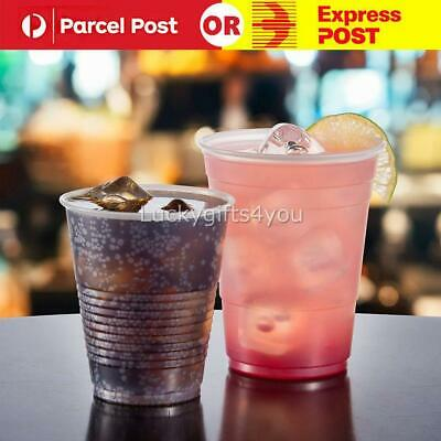 200ml Clear Disposable Plastic Cups Party Drinking Water Coffee Cup Reusable