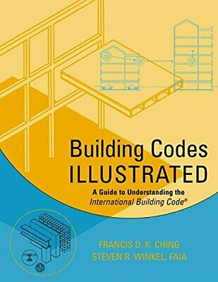 BUILDING CODES ILLUSTRATED: A GUIDE TO UNDERSTANDING By Steven R. Winkel **NEW**