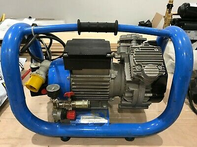 EMG Electromeccanica 110v Oilless Air Compressor Made in Italy
