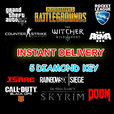 5 DIAMOND Random Steam Keys Worth more than 80$ 🔑+Gift ⭐INSTANT DELIVERY⭐