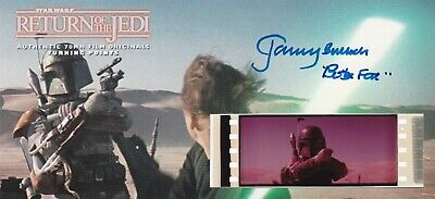 Return of the Jedi - Turning Points Ed 70MM Film Cell Cards #5759 (Autographed)