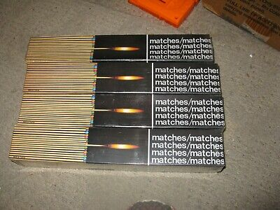 "Lot Of 6 Boxes  Long Matches Fireplace~Bbq 11"" Each Box 90 Ct"