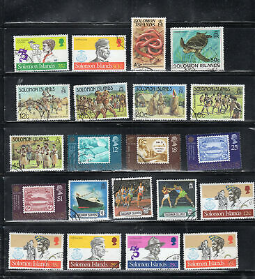 British Solomon Islands Stamps  Used  Lot 7357