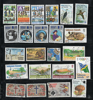 British Solomon Islands Stamps  Used & Mint Hinged  Lot 7358