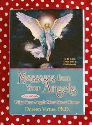 Doreen Virtue Messages From Your Angels Oracle Cards & Guidebook 😇