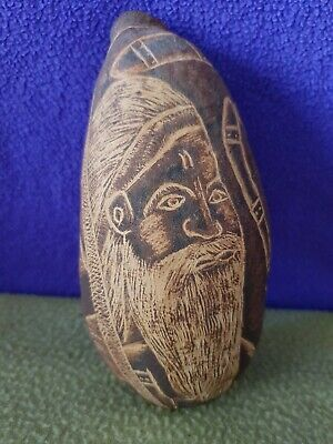 Carved Boab Nut