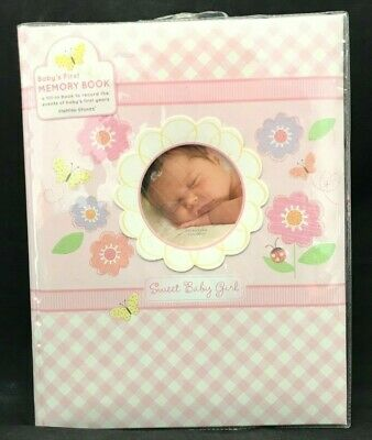Special Delivery Baby Girl Record Book /& Keepsake Box