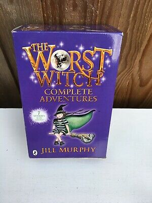 The Worst Witch Complete Adventures Childrens 6 Book Set by Jill Murphy