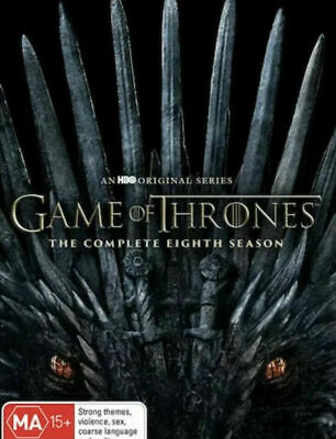 Game Of Thrones : The Complete Eighth Season Dvd