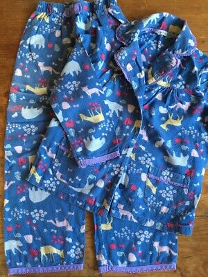 Cosy Girls Brushed Cotton Winter Christmas Pyjamas from John Lewis Age 6y