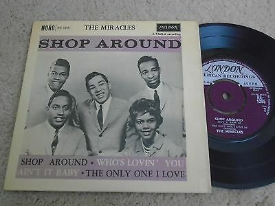 The Miracles, Shop Around 'Ultra Rare' E.P. 'Original' London Label