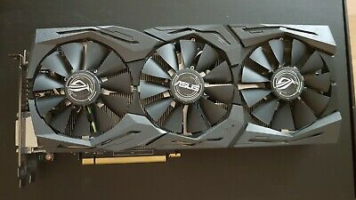 Asus Rog Strix Geforce Gtx1060-O6G Gaming Grafikkarte Nvidia Pcie 3.0 6Gb Gddr5