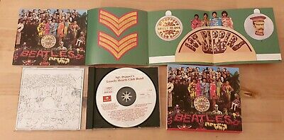 The Beatles - Sgt.peppers Lonely Hearts Club Band 1987 Emi Uk Cd 746442 2