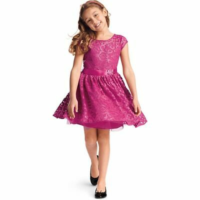 American Girl Merry Magenta Dress for Girls Holiday Christmas Fancy Size 12 NWT