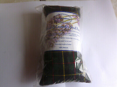 coronation wheat & lavender heat pack. hot/cold 100% natural. pain relief stress