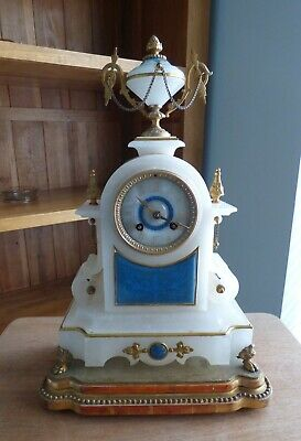 Nice Old Japy Frere Mantle Clock in Good Working Order.