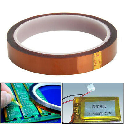 5Pc 15mm Kapton Tape High Temperature Heat-Resistant Polyimide BGA SMT Soldering