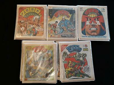 2000AD progs 151-200 - 50 comic FN/VFN collection with no news marks (LOT#6247)
