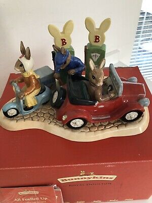 "Royal Doulton - Bunnykins ""All Fuelled Up"" DB 362 Limited Edition Tableau"