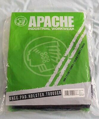 Apache APKHT NAV / Navy Safety Work Knee Pad Holster Trouser Size W32/L29