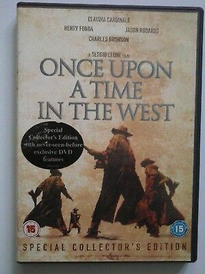 Once Upon A Time In The West (DVD, 2003, 2-Disc Set) Collectors Edition