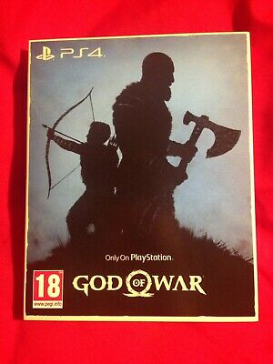 God of War PS4 Brand New Only On Playstation Collection Original Sleeve & Game