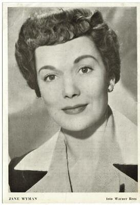 Actress JANE WYMAN (biografia revista Florita) 1950s original vintage photo