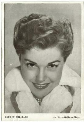 Actress ESTHER WILLIAMS (Revista Florita) 1950s original vintage photo