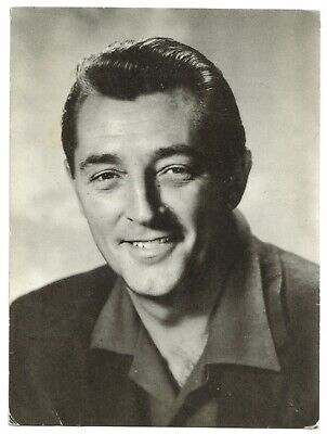Actor ROBERT MITCHUM (Revista Romántica) 1950s original vintage photo