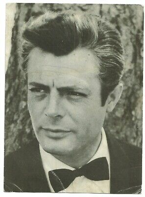 Actor MARCELO MASTROIANNI (Revista Romántica) 1960s original vintage photo
