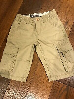 Aged 6-7 Beige Shorts By Fat Face