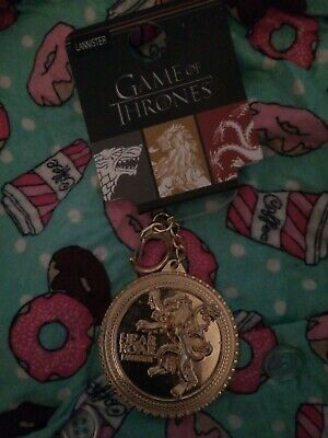Official Game of Thrones HOUSE LANISTER keyring