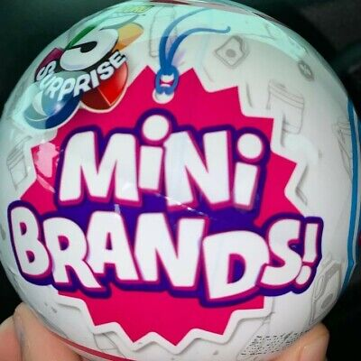 5 Surprise Mini Brands - 1 ball  - by Zuru - 100% Authentic - Trending Toy