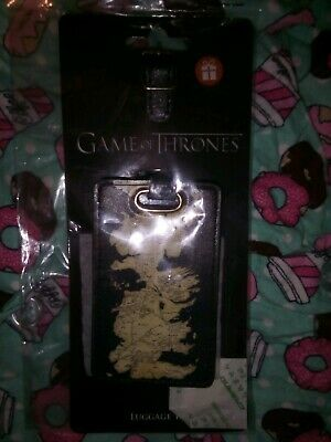 Official Game Of Thrones Luggage Tag