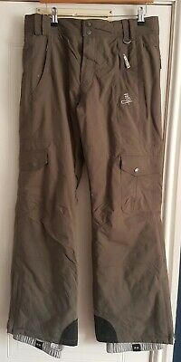 Roxy Snowboarding trousers ski Salopettes Size Medium