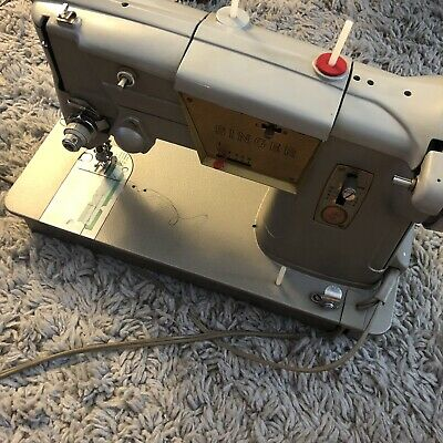 Vintage Singer Model 328k Heavy Duty Sewing Machine AS-IS Tested And Works