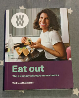 2019 WW Freestyle Weight Watchers Book - Eating Out Restaurants Cafe Guide UK