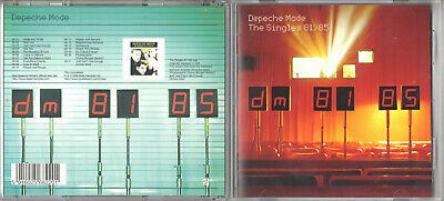 DEPECHE MODE / THE SINGLES 81>85 / CD ALBUM (1998 Remastered Reissue)