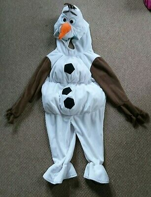 Disney Frozen Olaf Deluxe Dressing up Costume Age 18-24months