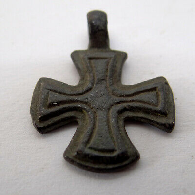 Ancient Artifact Bronze Maltese Cross