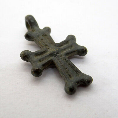 Roman Ancient Artifact Bronze Cross
