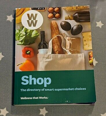 2019 WW Freestyle Weight Watchers Book - Shopping All Supermarkets Guide UK Rare