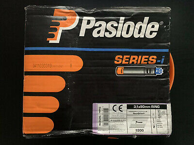 Paslode Series-i 2200x 3.1x90mm Ring Galv-Plus Nails *No Gas/Fuel Cells