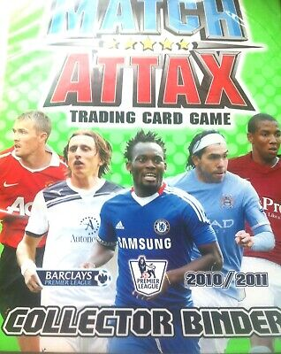 Match Attax 10/11 Binder With 402 Cards  2 Limited Editions Mint