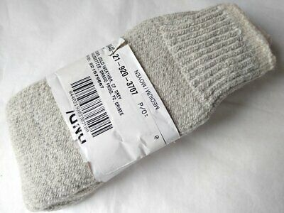 Vintage Deadstock DND/MDN Cold Weather Sock Grey / White Medium Canada