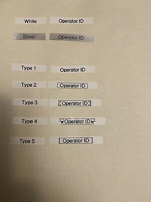 Operator ID Labels Drone Radio Control Helicopter Aeroplane CAA Approved